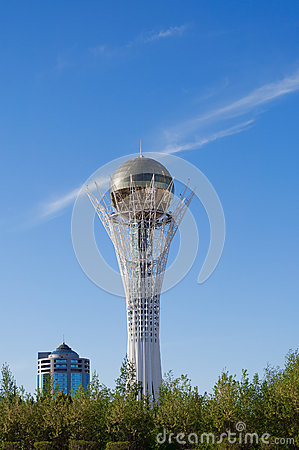 Free Bayterek Is A Monument In Astana. Kazakhstan Royalty Free Stock Photography - 46273047