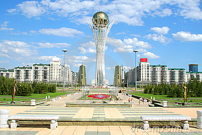 Bayterek Tower in Astana