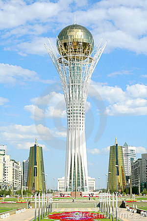 Free Bayterek Tower In Astana Royalty Free Stock Images - 6020819