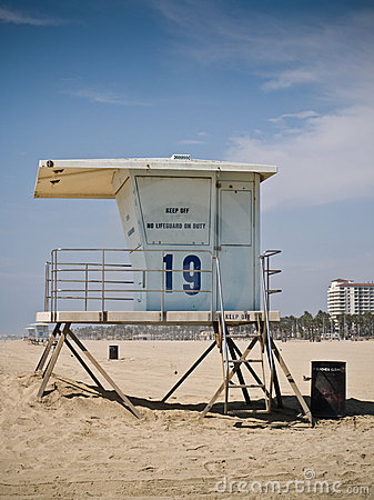Baywatch Lifeguard Tower