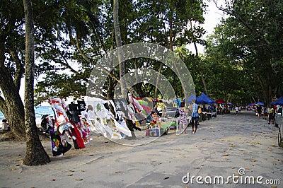 Bazaar at Beau Vallon, Seychelles