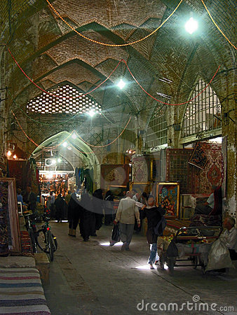 Bazaar in Mashad Editorial Stock Photo