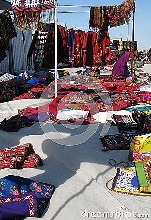 Bazaar ασιατική σκηνή αντικειμέ&n