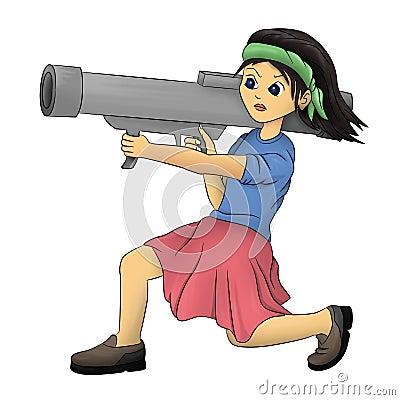 Bazooka girl