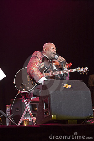 BB King Editorial Stock Photo