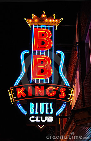 BB King s Blues Club, Memphis Editorial Stock Image