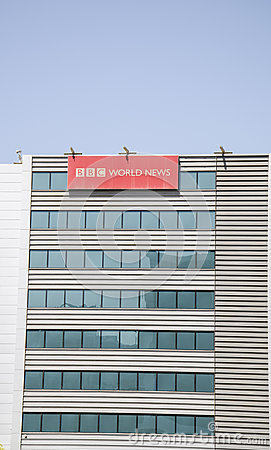 Bbc offices Editorial Photo