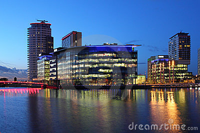 BBC Studios at Mediacityuk Editorial Photography