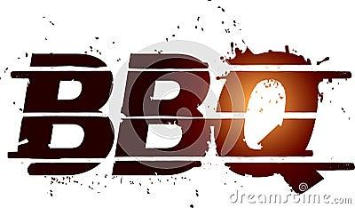 Bbq图象格栅文本