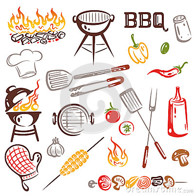 Free BBQ, Barbecue Royalty Free Stock Photos - 33527708