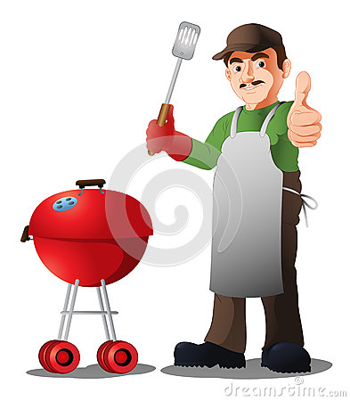 Free Bbq Chef Stock Images - 73444334
