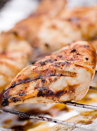 Free Bbq Chicken Royalty Free Stock Images - 1270779