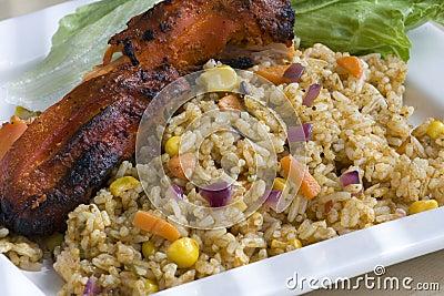 BBQ Chicken & Rice