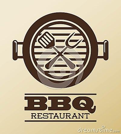 Free Bbq Design Royalty Free Stock Photo - 34660975
