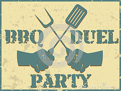 BBQ duel party