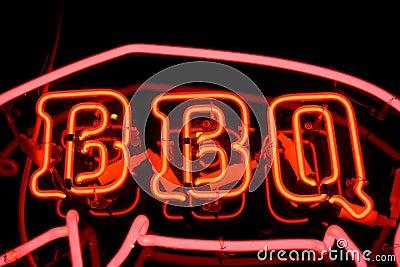BBQ Neon Sign