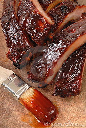 Free BBQ Ribs Stock Images - 20022664