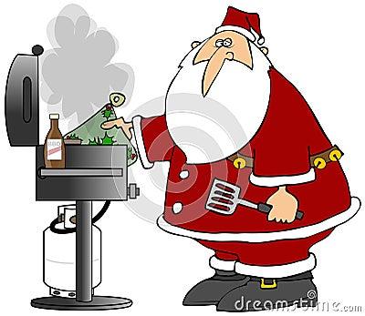 BBQ Santa