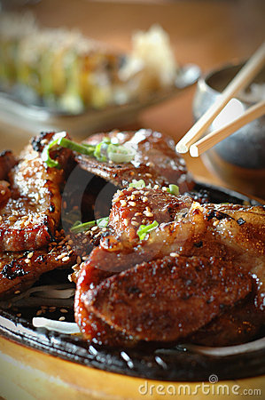 Free BBQ Short Ribs Royalty Free Stock Photo - 2478875