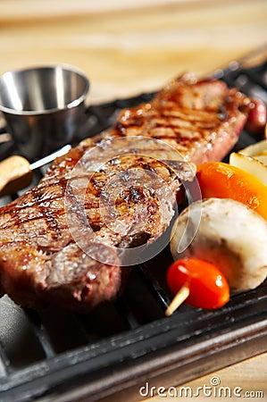 Free BBQ Steak Stock Photography - 734232