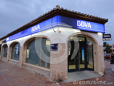 BBVA Editorial Stock Image