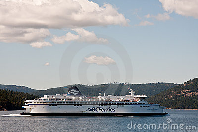 BC Ferries Editorial Stock Image