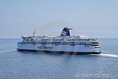 BC Ferries in British Columbia Editorial Image