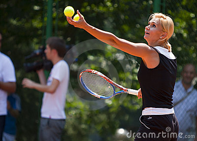 BCR Ladies Open Main Tennis Arena Opening Editorial Stock Image