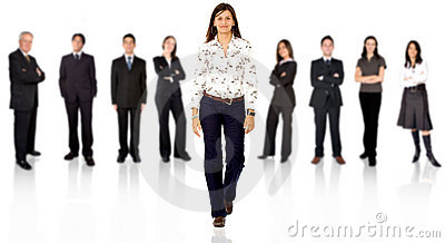 Be different - business team