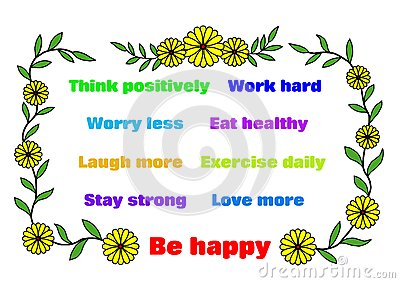 Be Happy - affirmations
