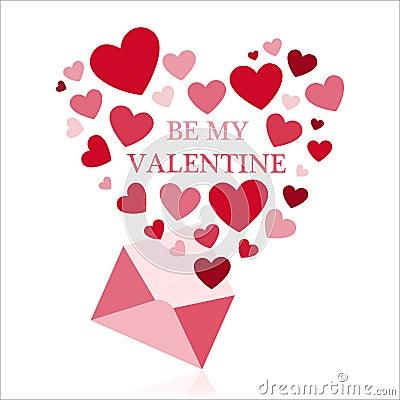 Free Be My Valentine. Stock Photo - 107859210