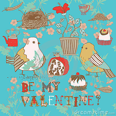 Free Be My Valentine Background Royalty Free Stock Photography - 18455447