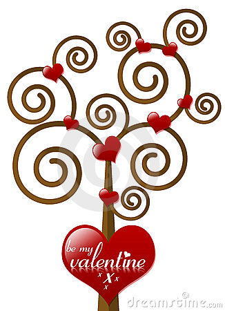 Be My Valentine Tree