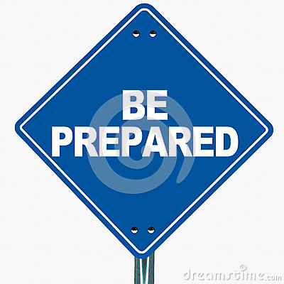 Be Prepared Stock Images Image 33391954