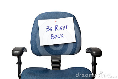 Be Right Back