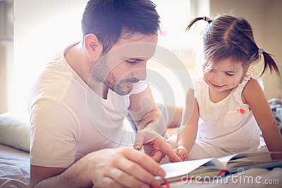 Be single parent is not easy but is full of love. Stock Photo