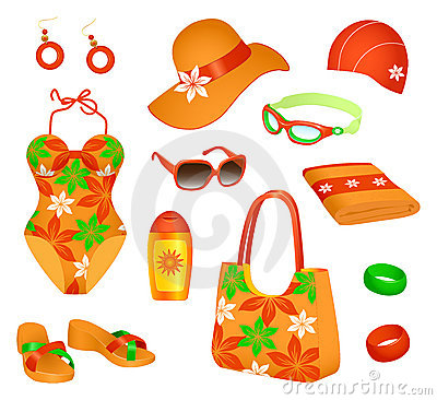 Beach accessories for woman