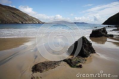 Beach in Achill Islan