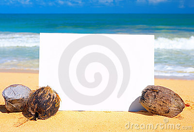 Beach Advertisement