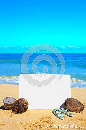 Beach Advertisement