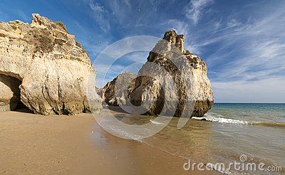 Beach in Algarve 2