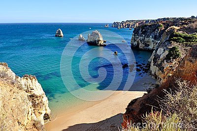 Beach in Algarve