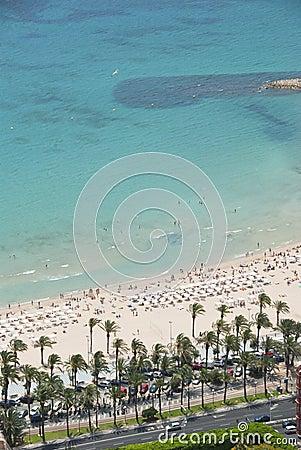 Beach, Alicante, Spain