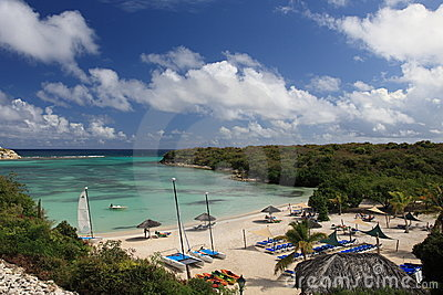 Beach on Antigua