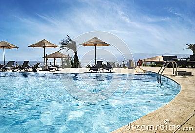 Beach in Aqaba, Jordan