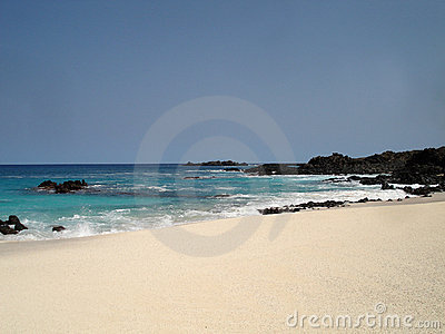 Beach on Ascension Island