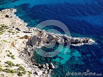 Beach of Atlantis Ibiza