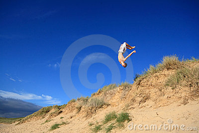 Beach Backflip