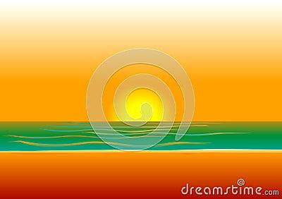 Beach Background 5