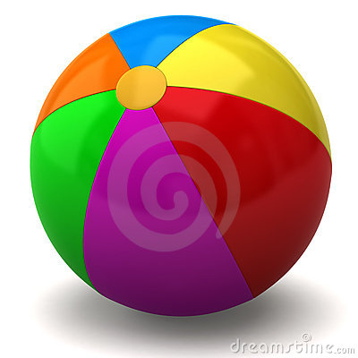 Free Beach Ball Royalty Free Stock Images - 13545629